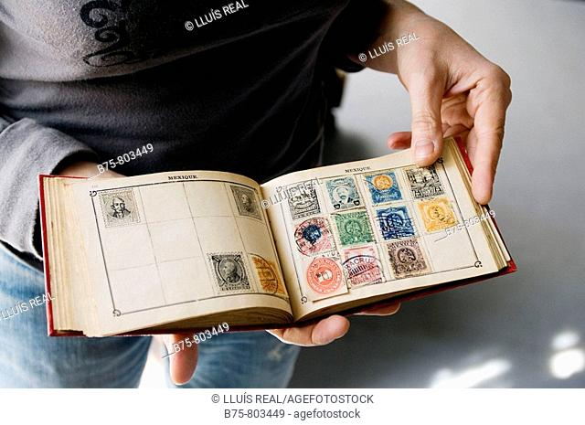 Old Mexican stamps