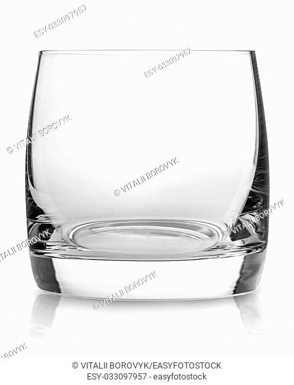 Cocktail Glass Collection - Small Shot. Isolated on white background