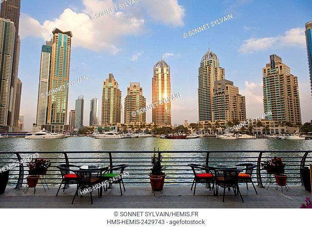 United Arab Emirates, Dubai, Marina