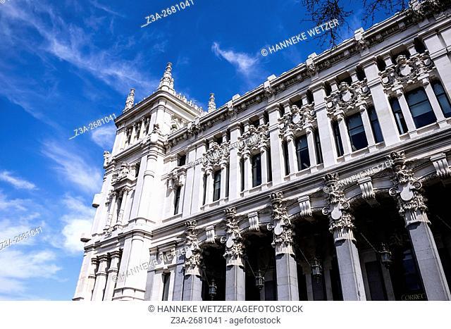 Cybele Palace (City Hall) Madrid, Spain, Europe