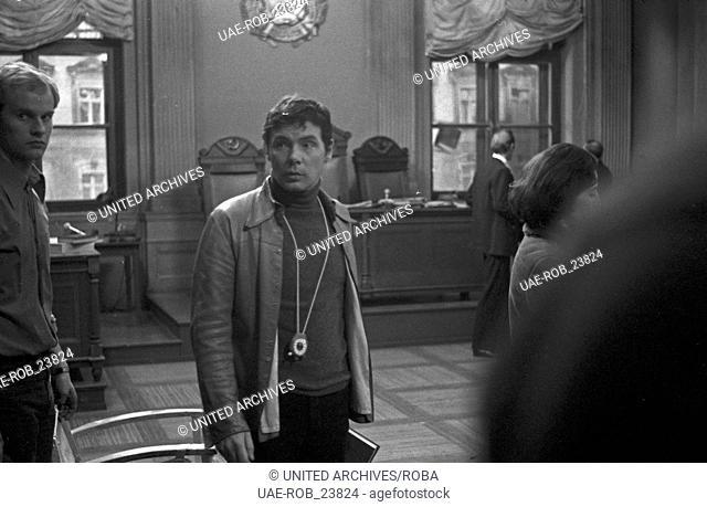 Mittags auf dem Roten Platz, Fernsehfilm, Deutschland 1978, Regie: Dieter Wedel, Dreharbeiten