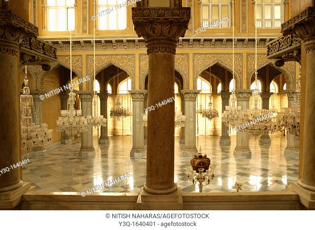Khilwat Mubarak is where the Nizam, the ruler of Hyderabad, used to sit on his throne and meet with his subjects  The Nizam family ruled Hyderabad for around...