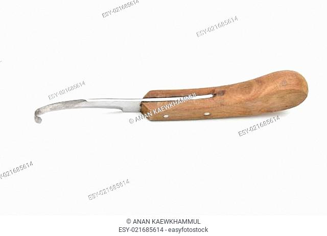 knife for trimming animal hoof