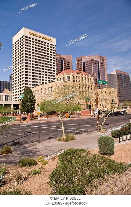 Office buildings, Phoenix, Arizona