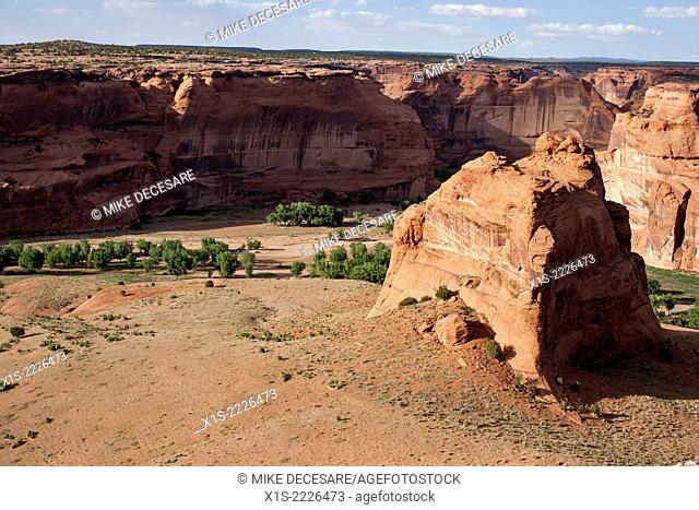 Living history in and around Canyon de Chelly, the only jointly managed U.S. National Monument and Navajo Tribal Trust Land boasts deep canyon where Navajo live...