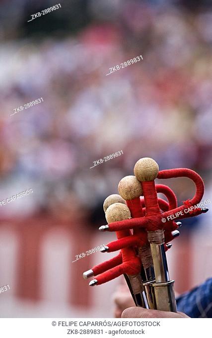 'Estoques' (Bullfighting celebration), Spain