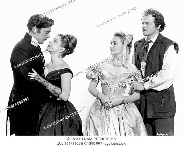 RELEASE DATE: November 5, 1947. MOVIE TITLE: Green Dolphin Street. STUDIO: Metro-Goldwyn-Mayer (MGM). PLOT: Sophie loved Edmund
