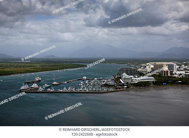 Cairns Harbor, Trinity Inlet, Queensland, Australia