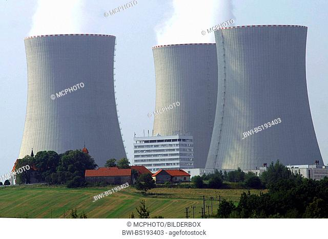 nuclear power plant in, Czech Republic, Temelin