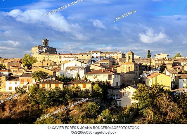 St. James way, Torres del Río village, Navarra, Spain