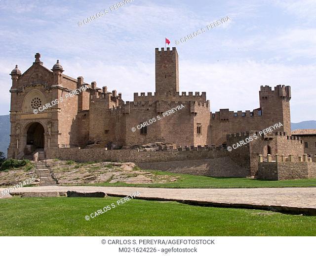 Castillo de Javier, Javier Castle, Navarre, Spain