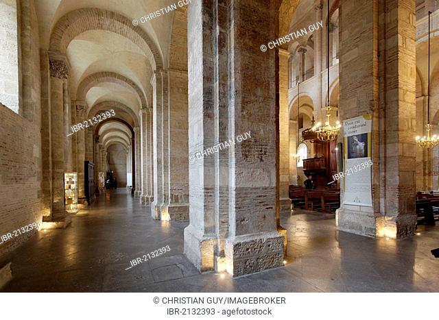 Saint Sernin Basilica, a stop on el Camino de Santiago, Haute-Garonne, Toulouse, France, Europe