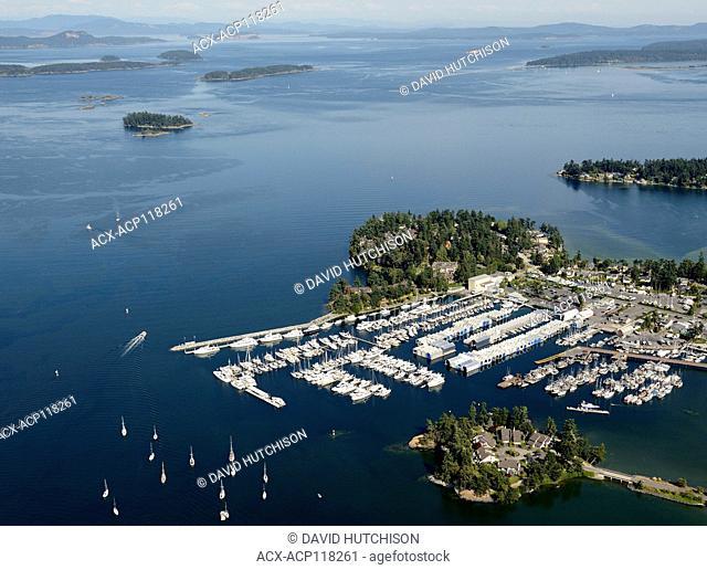 Van Isle Marina, Sidney, BC, Vancouver Island, Canada
