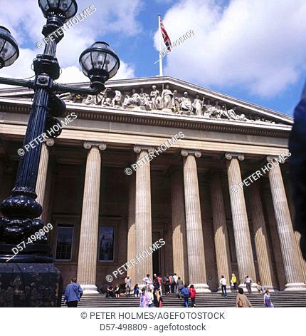 The British Museum, London. England, UK