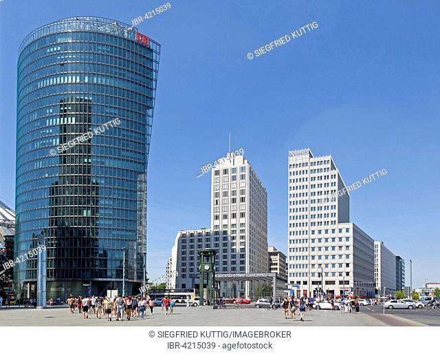 BahnTower, headquarters of Deutsche Bahn on the Potsdamer Platz, Berlin, Germany