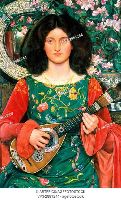 Kate Elizabeth Bunce - Melody (Musica) - Birmingham Museum and Art Gallery