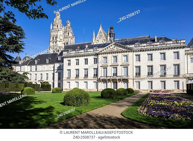 Fine Arts Museum, in a Former Archbishop's Palace. Tours, Indre et Loire, Loire Valley, France, Europe