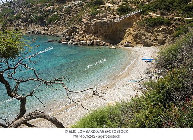 Kato Kimisi beach, Lipsi Island, Dodecanese, Greece