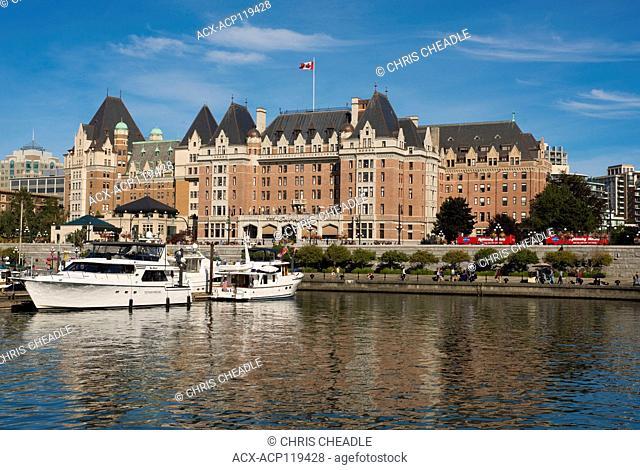 Empress Hotel, Inner Harbour, Victoria, British Columbia, Canada