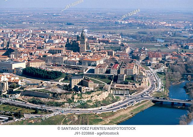 Aerial view of Salamanca. Spain