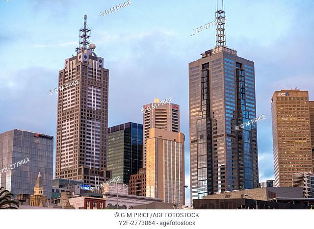 Melbourne city office buildings
