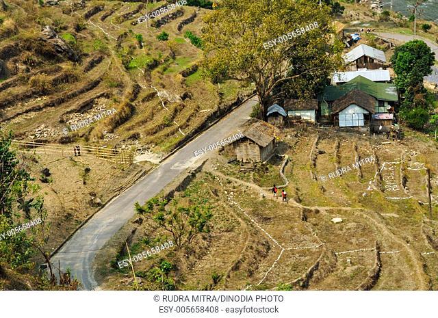 Road ; Sikkim ; India