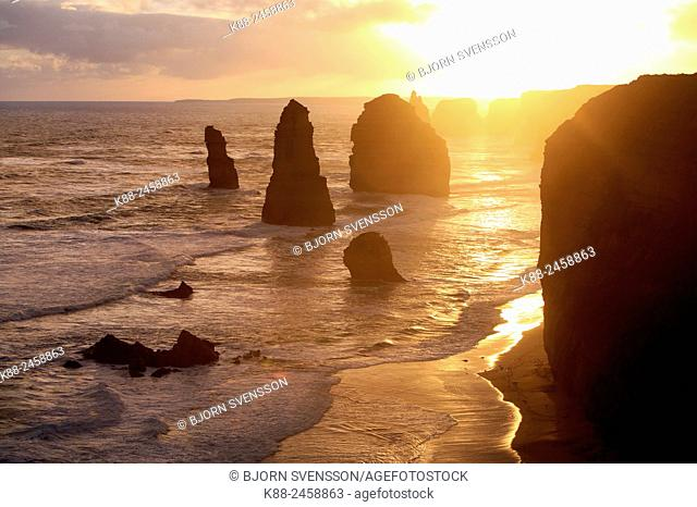 Twelve Apostles. Port Campbell National Park, Victoria, Australia