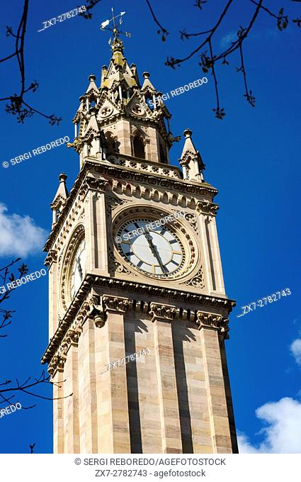 The Albert Memorial Clock is a tall clock tower situated at Queen's Square in Belfast, Northern Ireland, UK. It was completed in 1869 and is one of the best...