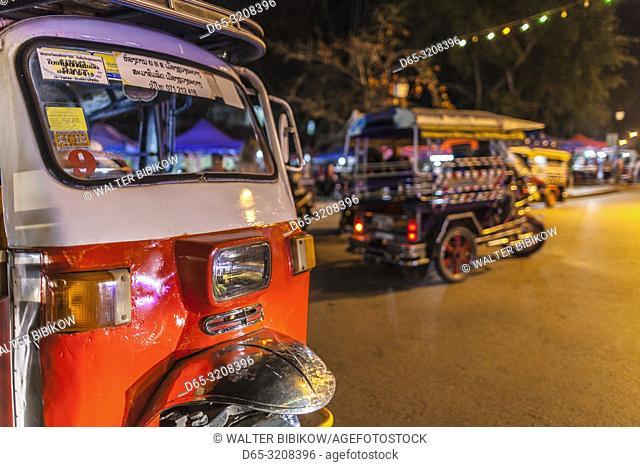 Tuk tuks, Luang Prabang, Laos