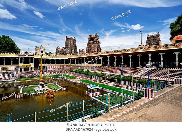 Meenakshi sundareswarar or meenakshi amman temple , Madurai , Tamil Nadu , India