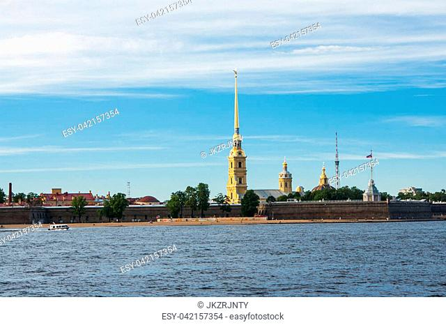 The Peter and Paul Fortress is the original citadel of St. Petersburg, Russia, founded by Peter the Great in 1703 and built to Domenico Trezzini's designs from...