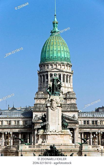 Der Kongresspalast in Argentiniens Hauptstadt Buenos Aires