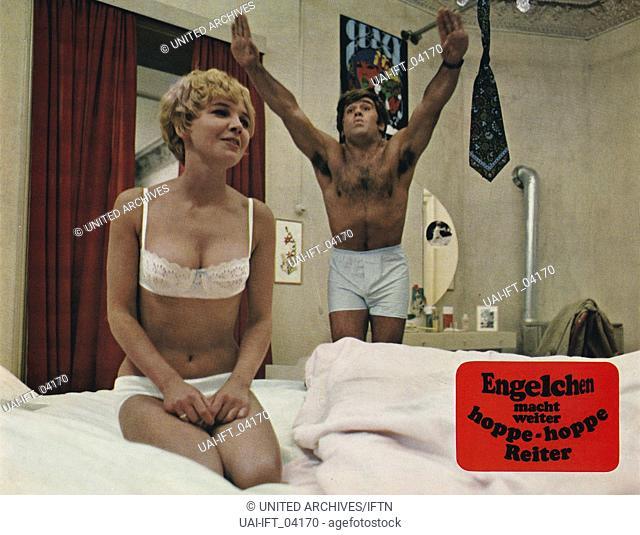 Engelchen macht weiter - Hoppe, Hoppe, Reiter, Deutschland 1969, Regie: Michael Verhoeven, Darsteller: Mario Adorf, Gila von Weitershausen