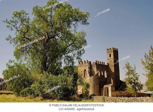 Alem-Seghed-Fasil castles. Gonder. Ethiopia