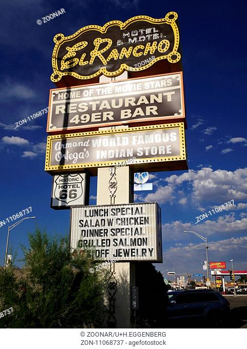 Famous El Rancho Hotel,Gallup,Route 66