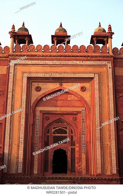 Jami Masjid in Fatehpur Sikri built during second half of 16th century , Agra , Uttar Pradesh, India UNESCO World Heritage