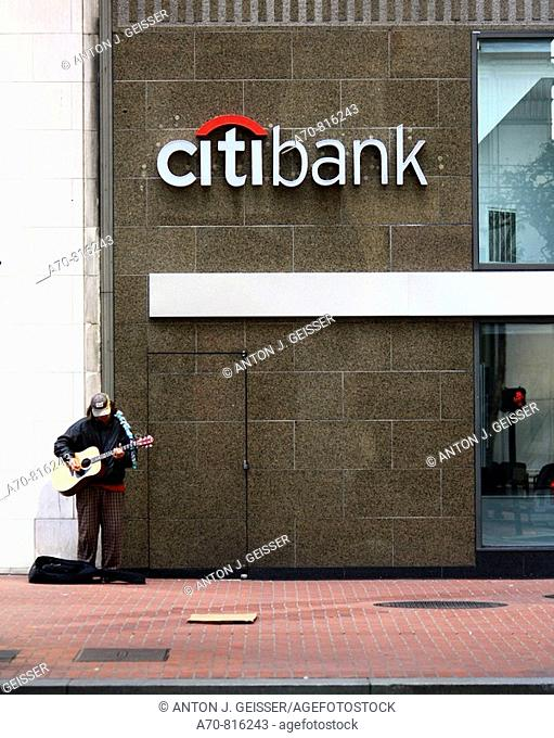 Citibank. San Francisco. CA. USA