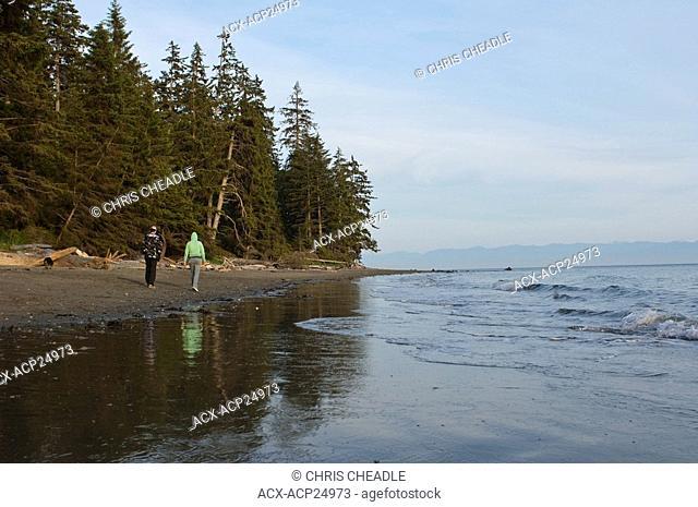 China Beach, Juan de Fuca Marine trail, Vancouver Island, BC, Canada