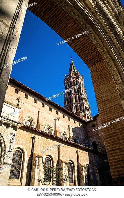 St. Sernin Basilica, It was built in the Romanesque style between about 1080 and 1120, Toulouse, France