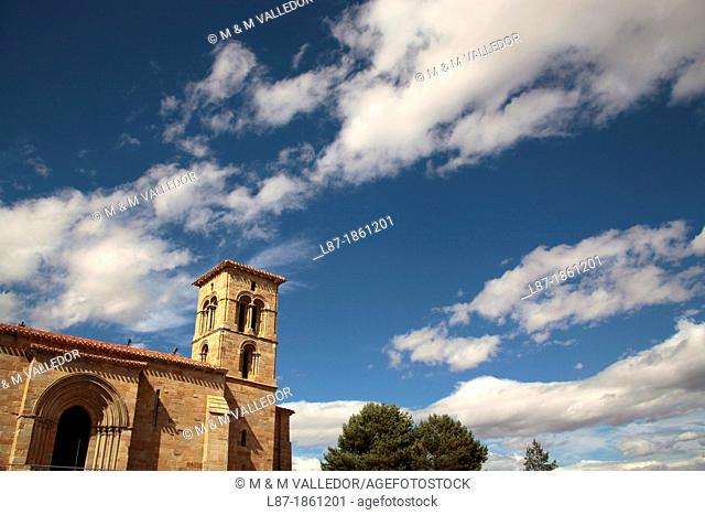 Iglesia de Santa Cecilia, Aguilar de Campoo, Palencia,castilla,Spain