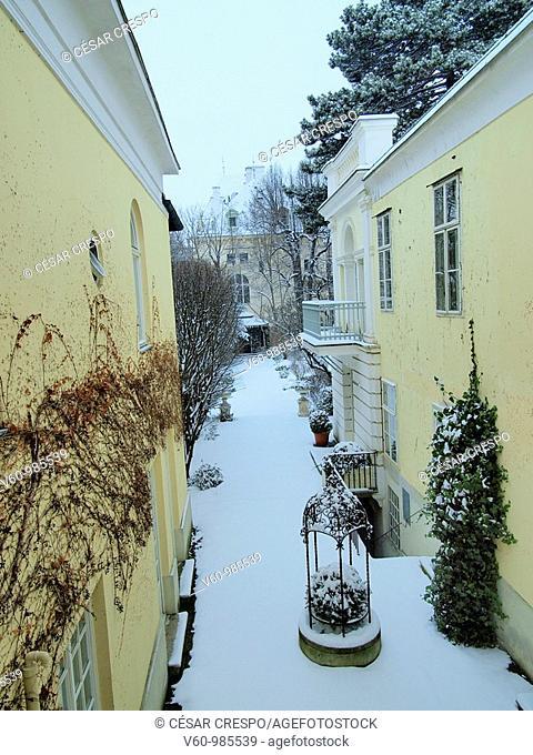 -Winter in Wien (Austria)