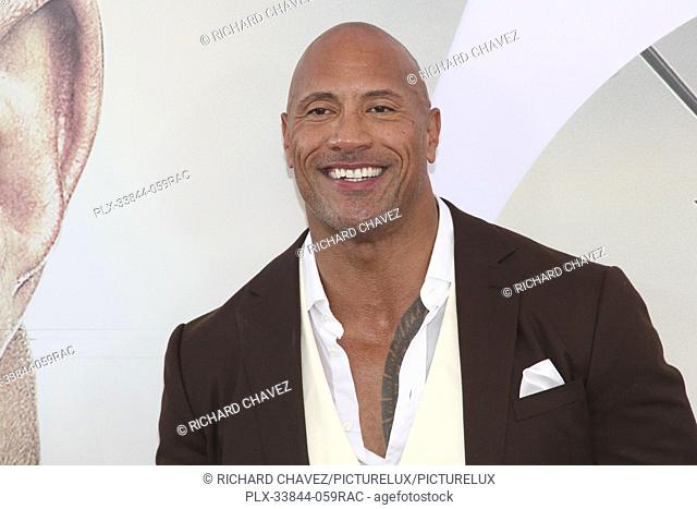 "Dwayne Johnson at the Universal Pictures World Premiere of """"Fast & Furious Presents: Hobbs & Shaw"""". Held at the Dolby Theater in Hollywood, CA, July 13, 2019"