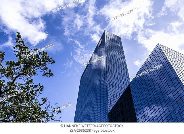 Delfse Poort, modern architecture in Rotterdam, the Netherlands, Europe