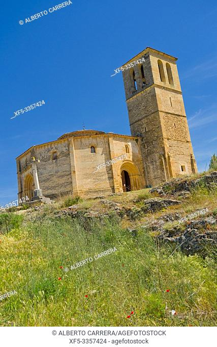 Church of Vera Cruz, Knigths Templar Church, 13th Century Romanesque Style, San Marcos Quarter, Segovia, UNESCO World Heritage Site, Castilla y León, Spain