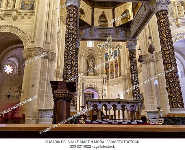 Sanctuary of the Virgin of Ta' Pinu in Gozo. Malta