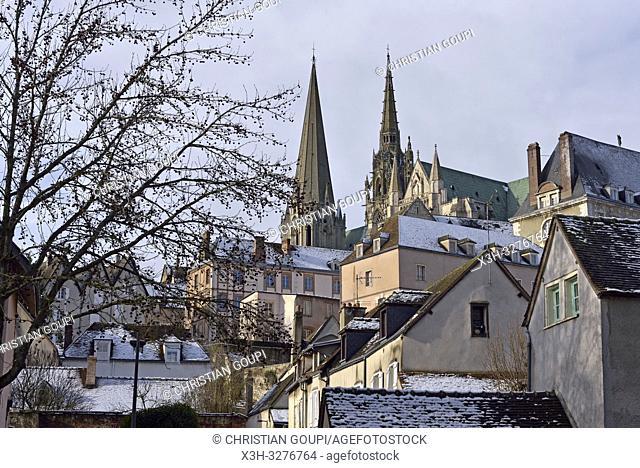 Chartres, departement d'Eure-et-Loir, region Centre-Val de Loire, France, Europe/, Eure-et-Loir department, Centre-Val de Loire region, France, Europe