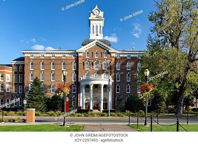 Old Main, Kutztown University campus, Kutztown, Pennsylvania, USA