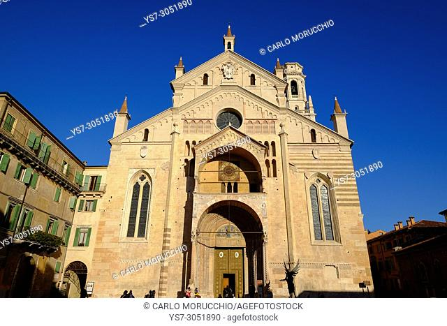 Verona Cathedral, Verona, Italy, Europe