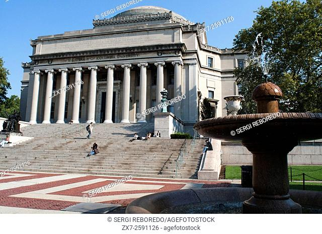 Columbia University. 2960 Broadway corner of 116th Street, (visitor center: 213, Low Memorial Library Mon-Fri 9am-5pm). Tel 212-854-1754