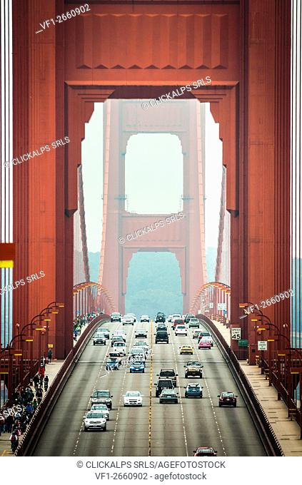 The Golden Gate Bridge, San Francisco, California, USA
